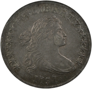 The Arlington Collection 1797 Silver Dollar
